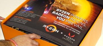 Unboxing AMD Ryzen 3 2200G & Ryzen 5 2400G Press kit