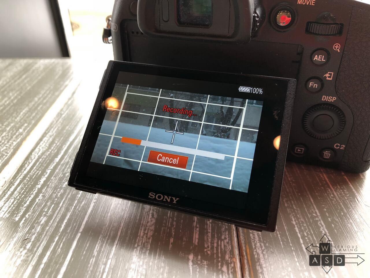 Sony RX10 II 1000 fps