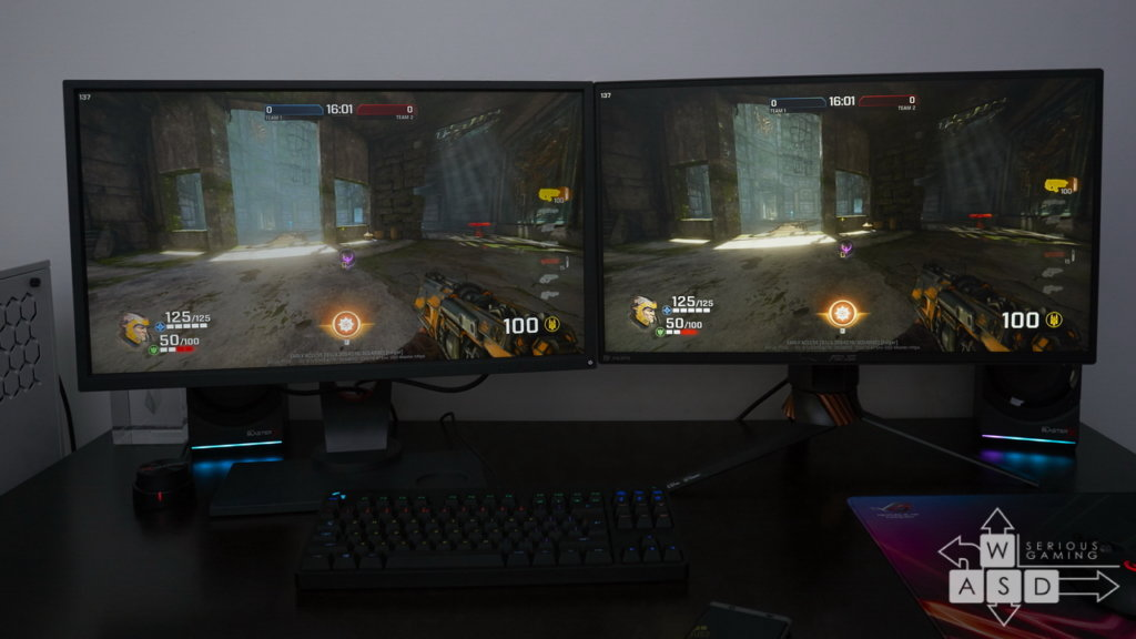 Asus ROG Swift PG258Q & Zowie XL2540