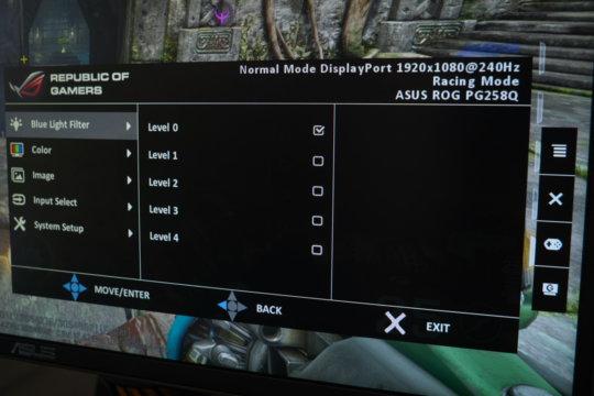 Asus ROG Swift PG258Q 240 Hz Gaming Display Review | WASD