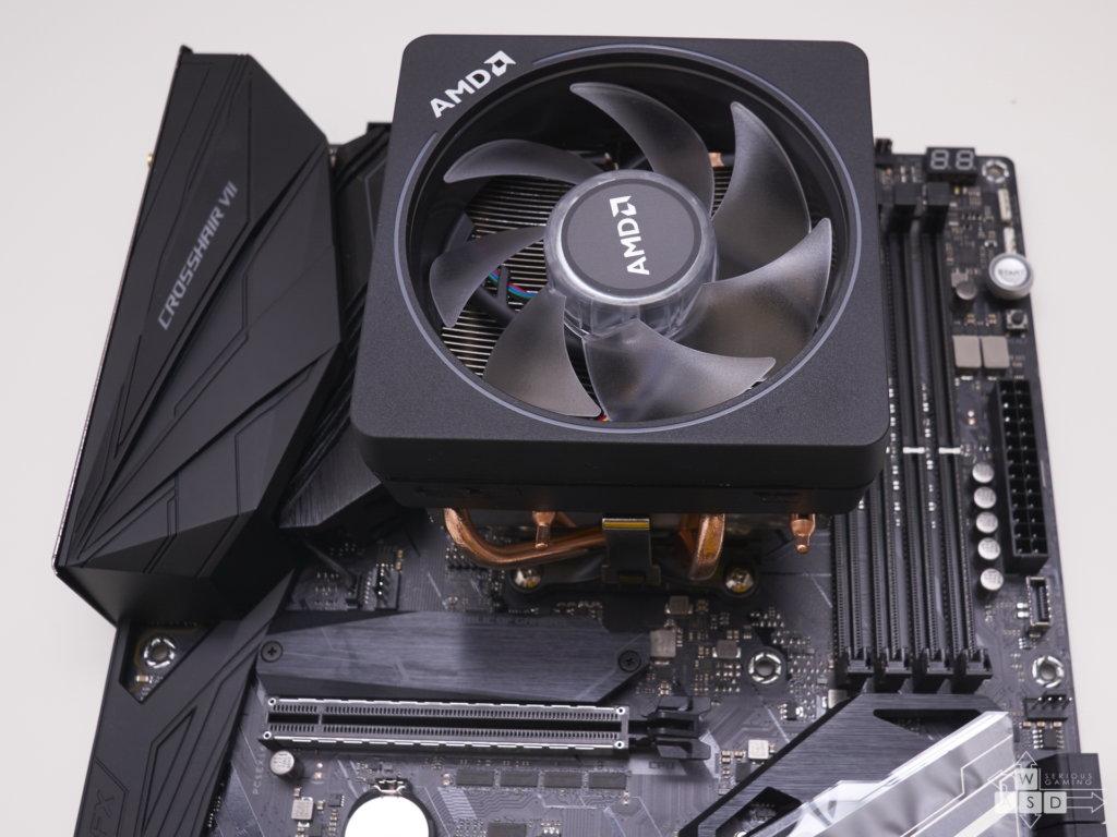 AMD Ryzen 7 2700X & Asus ROG Crosshair VII Hero WIFI