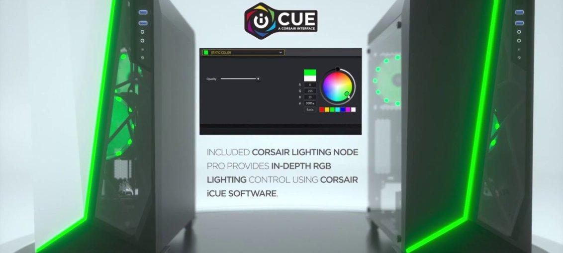 Corsair lanseaza carcasa SPEC-OMEGA RGB
