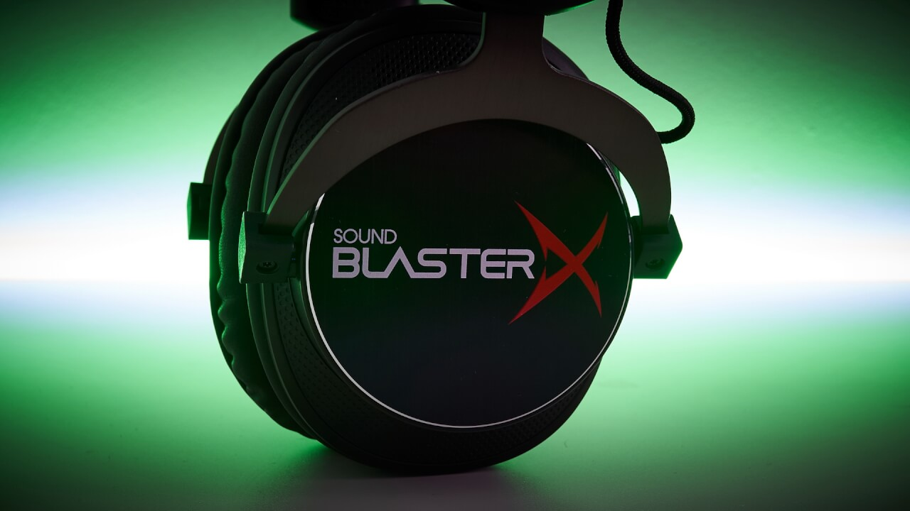 Sound BlasterX H5 Tournament Edition gaming headphones review | WASD