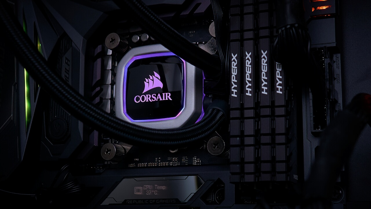 Corsair H150i Pro AIO Cooler review | WASD