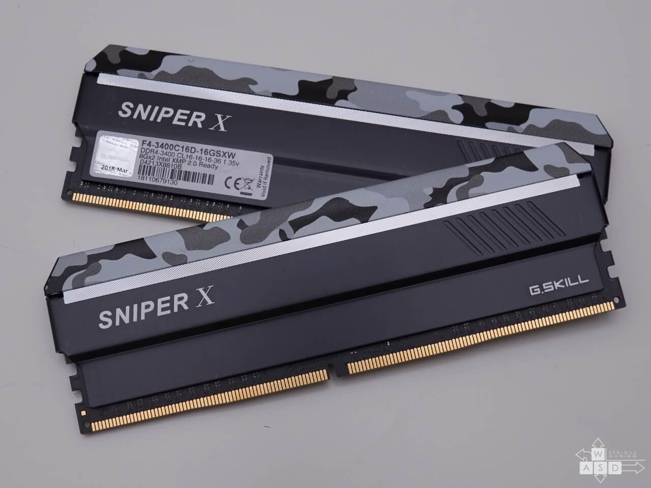 SniperX 3400 MHz