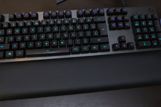 Logitech G513 gaming keyboard review | WASD