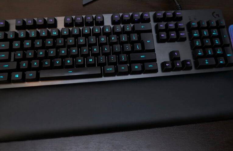 Logitech G513 gaming keyboard review | WASD