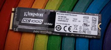Kingston KC1000 NVMe SSD 480GB Review | WASD