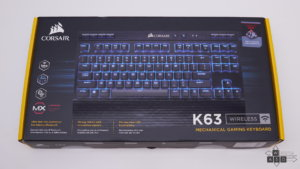 Corsair K63 Wireless mechanical gaming keyboard Cherry MX Red review | WASD