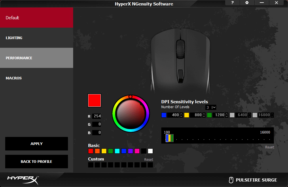 HyperX Pulsefire Surge RGB Gaming mouse review | WASD