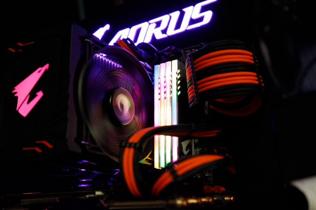 Gigabyte Aorus RGB Fusion RAM