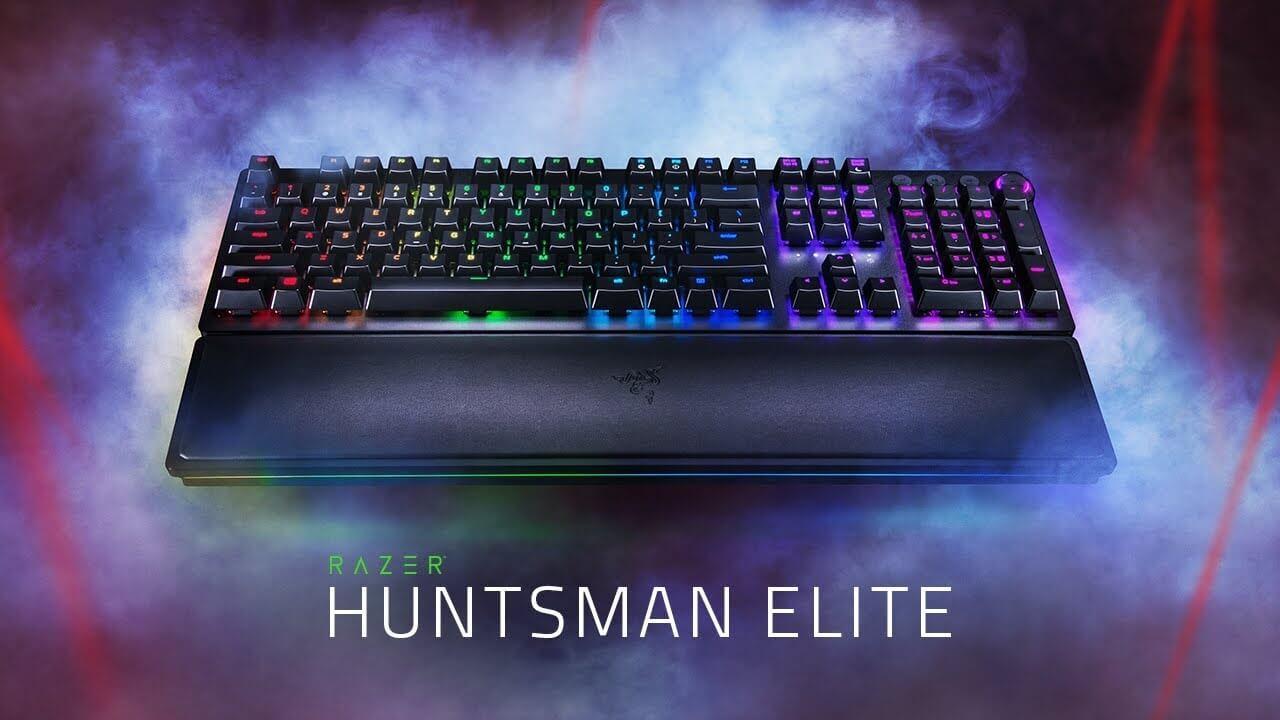 Tastatura Razer Huntsman oferă o performanță rapidă a jocurilor cu o noua tehnologie de switch-uri