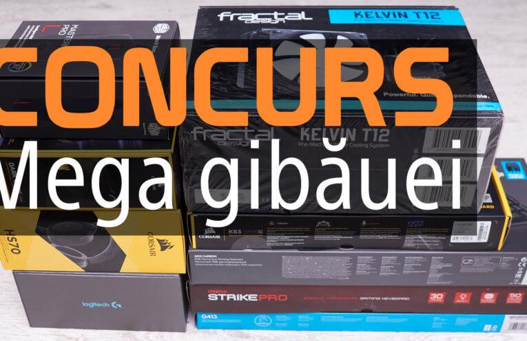 CONCURS - Mega gibăuei