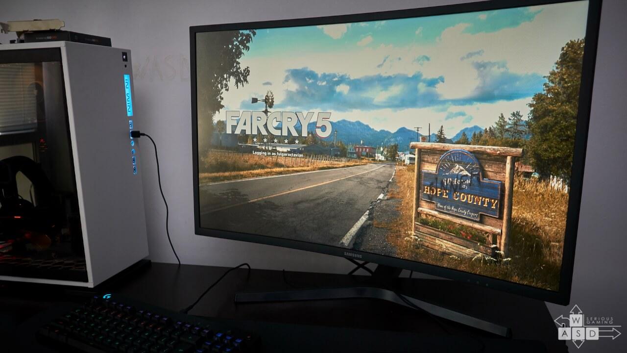 Samsung CHG70 LC32HG70QQUXEN review - Monitor Premium cu Freesync 2