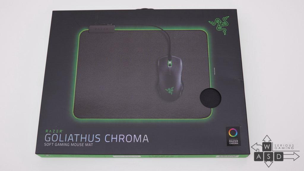 Razer Goliathus Chroma mousepad review   WASD