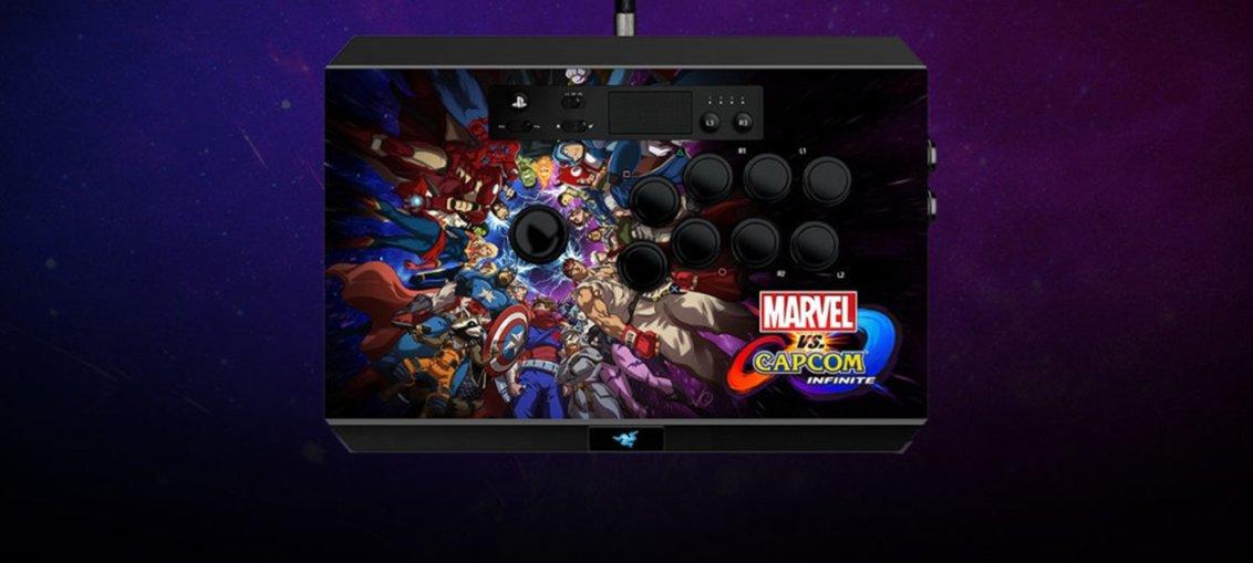 Razer lanseaza arcade stick-ul Marvel vs. Capcom Infinite pentru Playstation 4