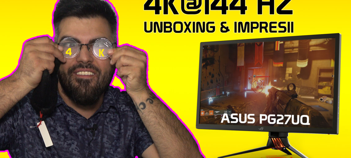 Asus PG27UQ 4K 144 Hz | WASD