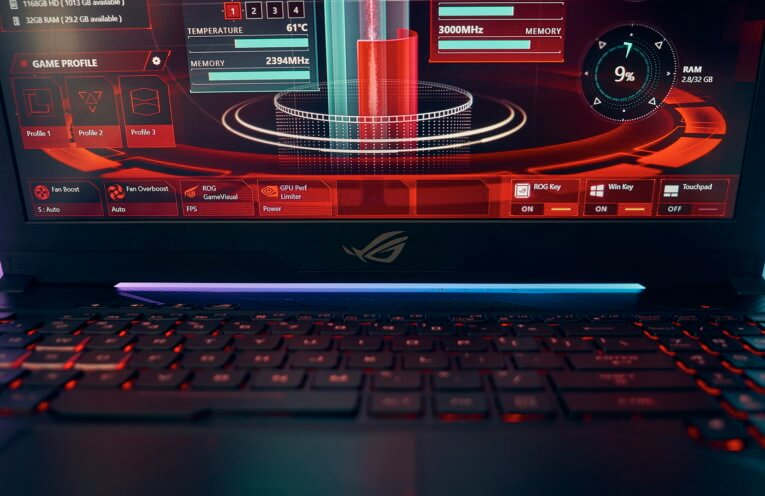 Asus ROG Strix GL503VS GTX1070 144Hz notebook review | WASD