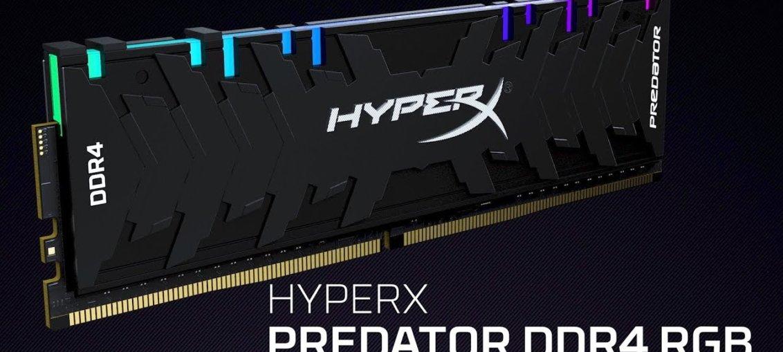 HyperX extinde linia de memorii DDR4 Predator RGB si DDR4 Predator