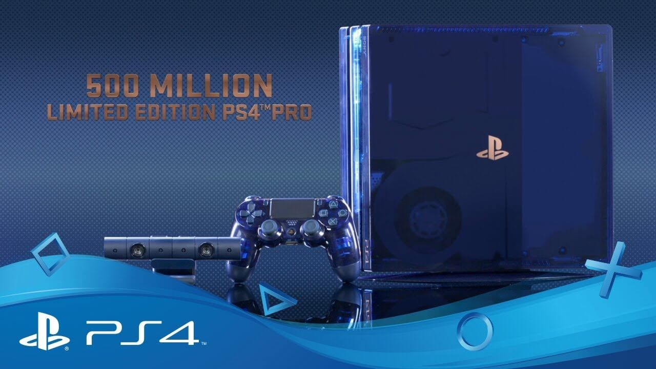 Sony anunta editia limitata a consolei Playstation 4 Pro – 500 Million