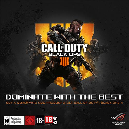ASUS ROG parteneriat cu Call of Duty Black Ops 4