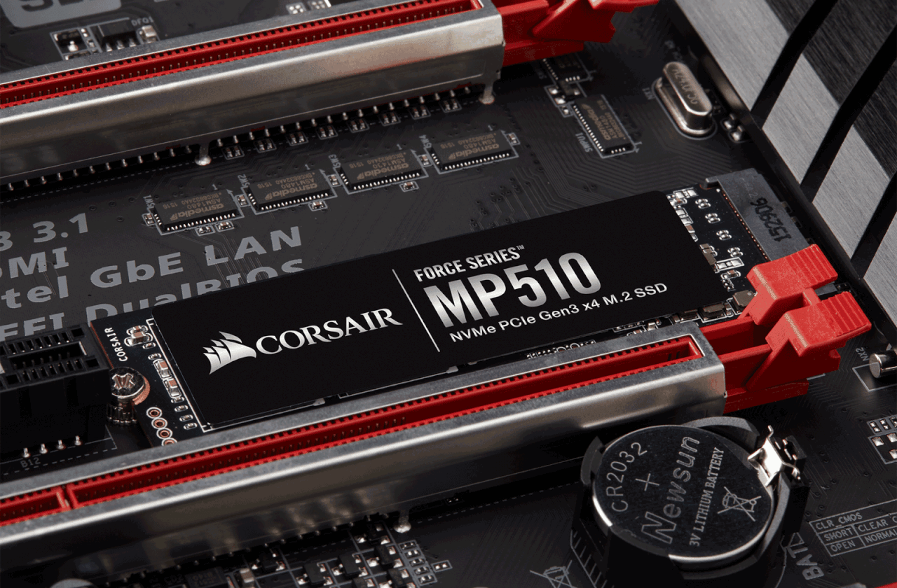 Corsair SSD MP510