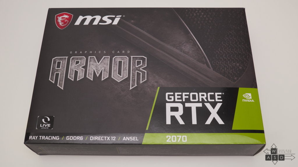 MSI GeForce RTX 2070 Armor review | WASD