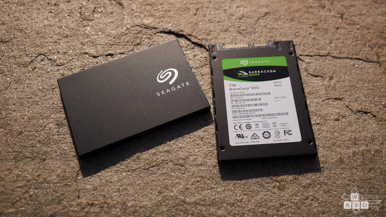 Seagate Barracuda SSD 500 GB & 1TB | WASD