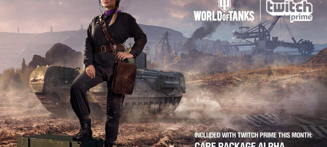 World of Tanks colaboreaza cu Twitch Prime