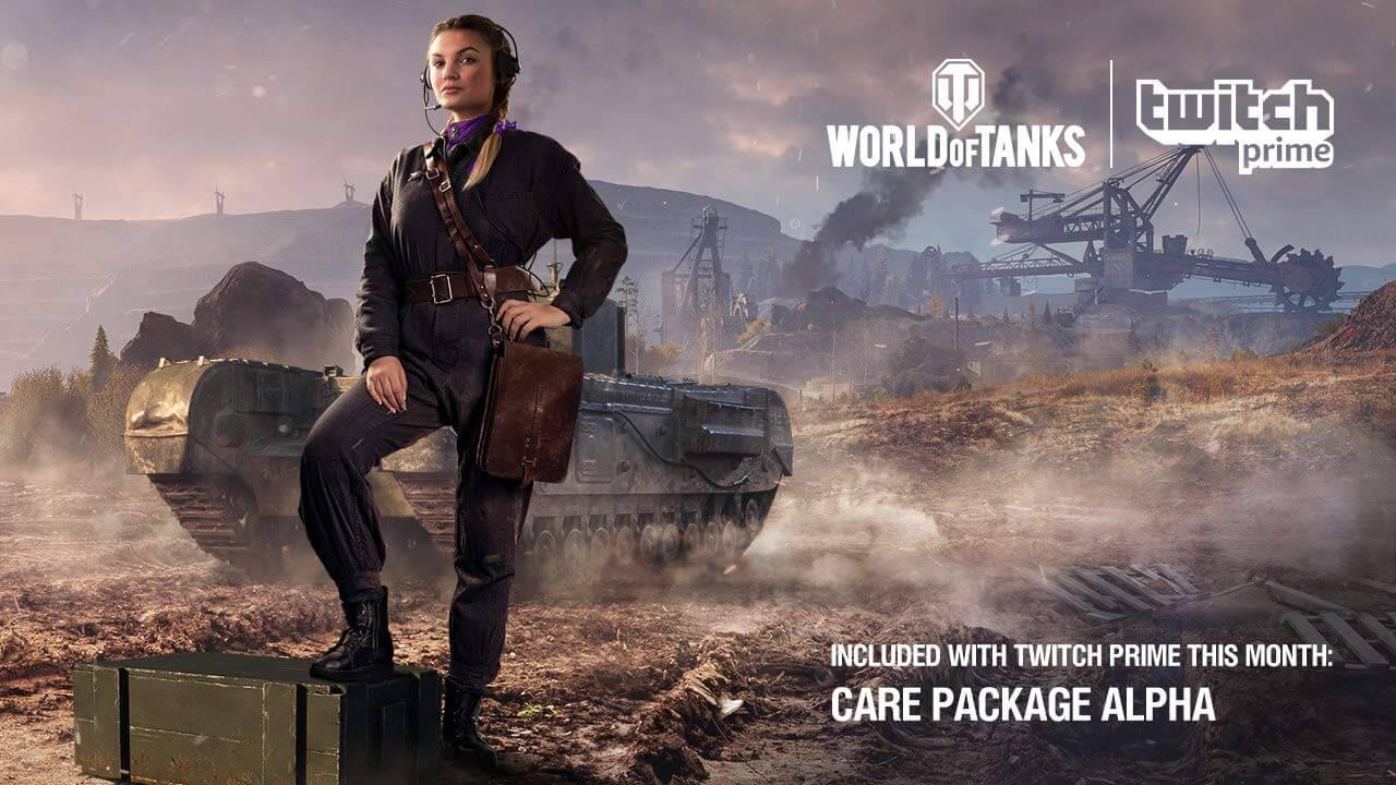 World of Tanks colaboreaza cu Twitch Prime