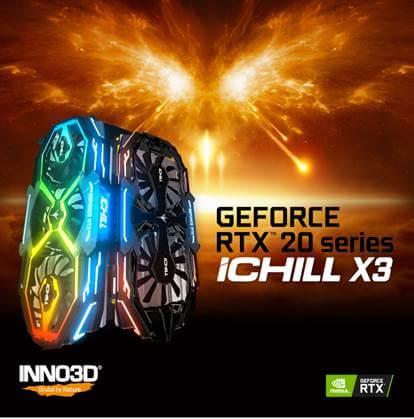 iCHILL X3 pentru seria NVIDIA GeForce RTX,