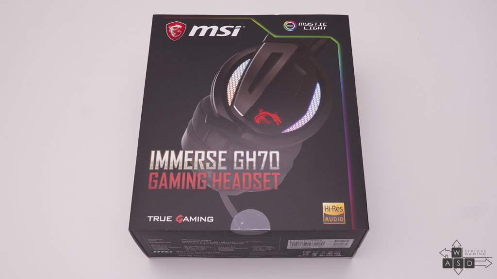 MSI Immerse GH70 review | WASD