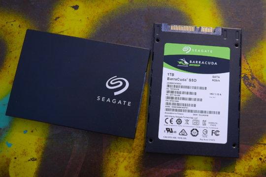 Seagate Barracuda SSD 500 GB & 1TB | WASD