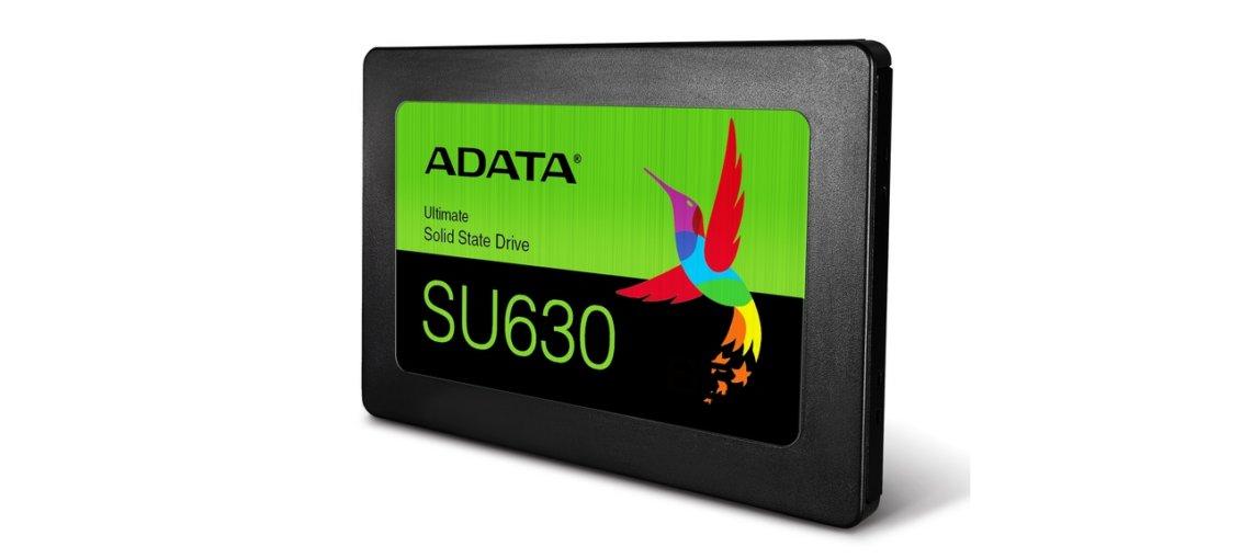 ADATA lanseaza SSD-ul 3D QLC NAND Ultimate SU630