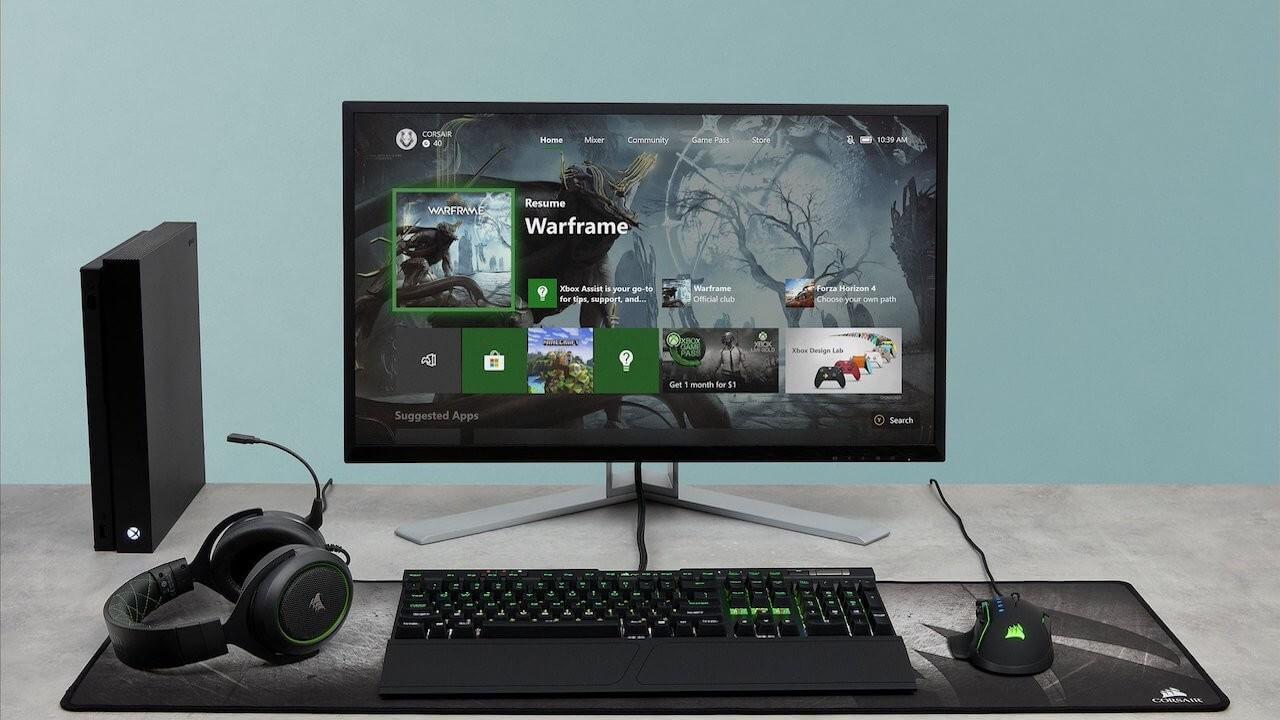 Corsair anunta compatibilitatea perifericelor de gaming cu Xbox One