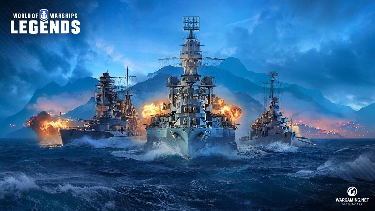 World of Warships Legends Closed Beta a fost anuntat