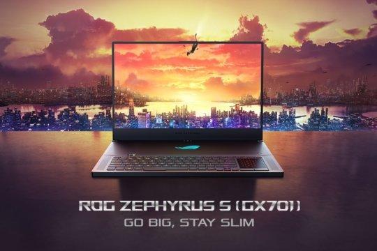 CES 2019 Asus lanseaza laptopul ROG Zephyrus S GX701