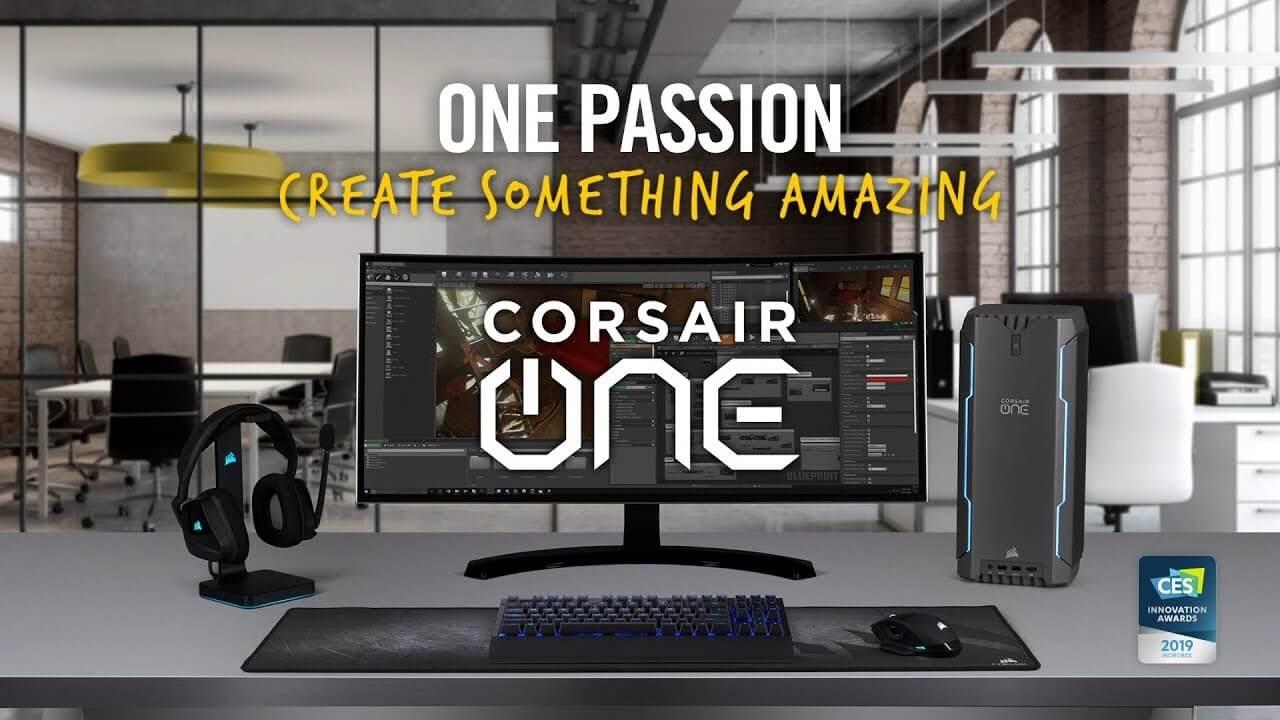 CES 2019: Corsair anunta sistemul ONE PRO i180