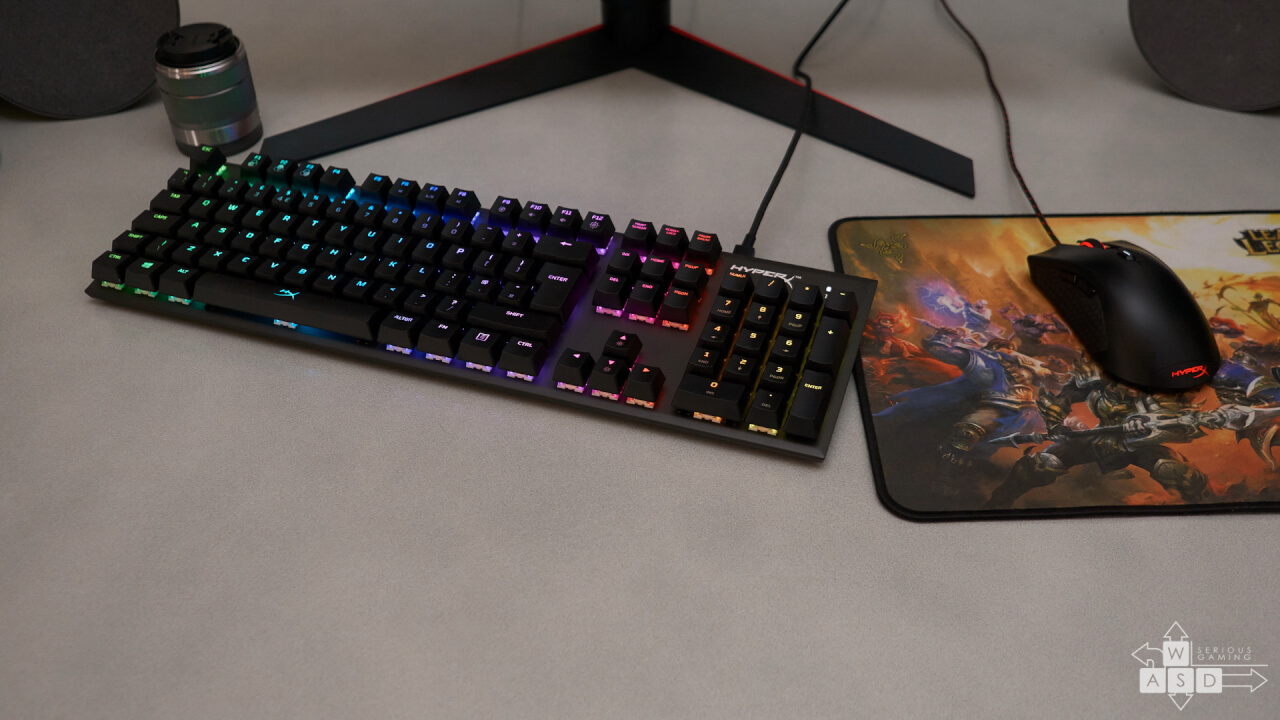 HyperX Alloy FPS - RGB - Kailh Silver Speed review | WASD