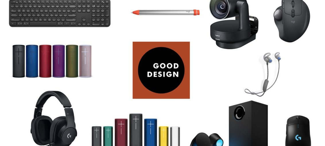 Logitech castiga 10 premii GOOD DESIGN 2018