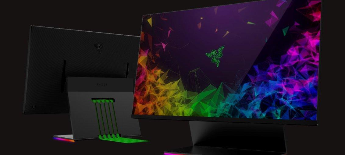Razer anunta primul monitor de gaming