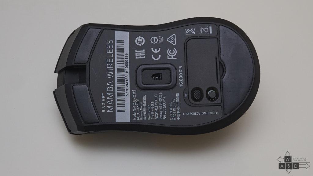 Razer Mamba Wireless review   WASD