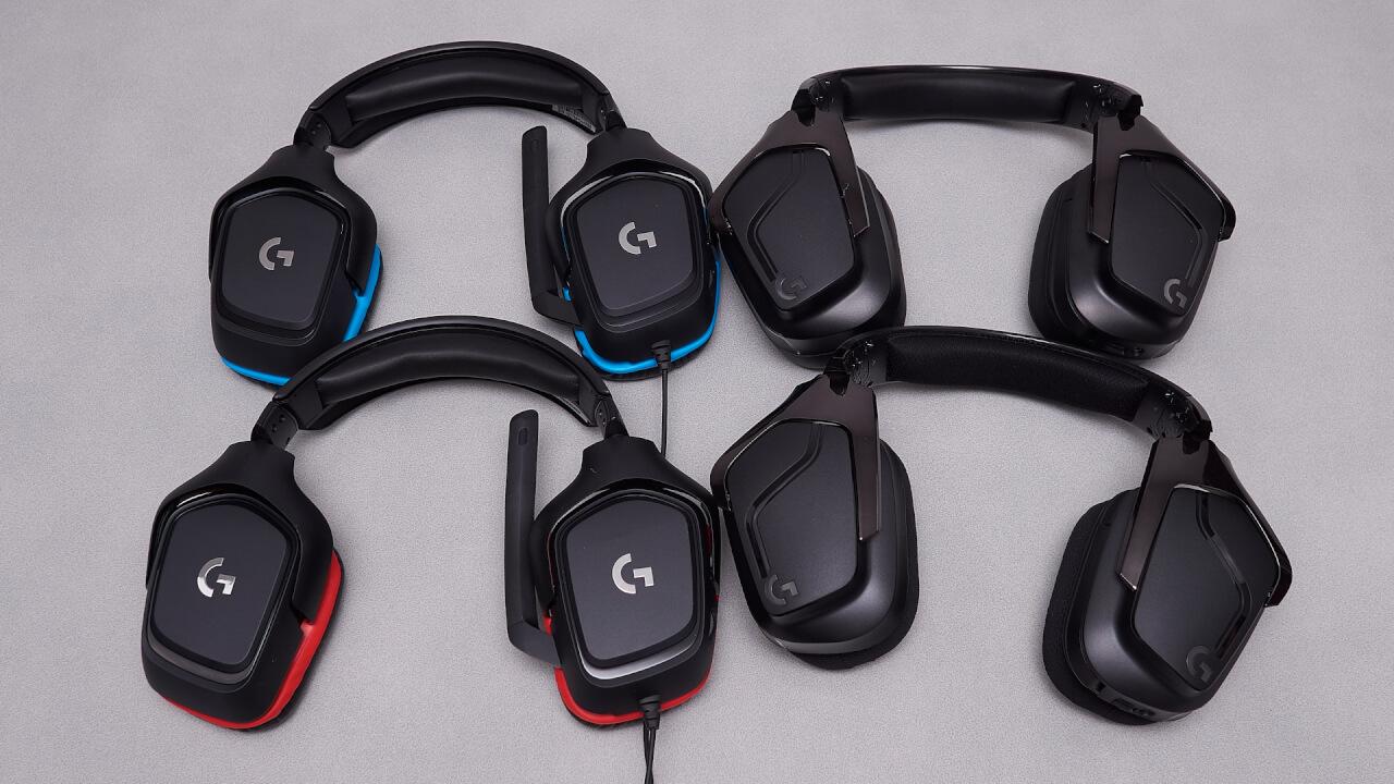 Logitech G935, G635, G432, G332 review | WASD