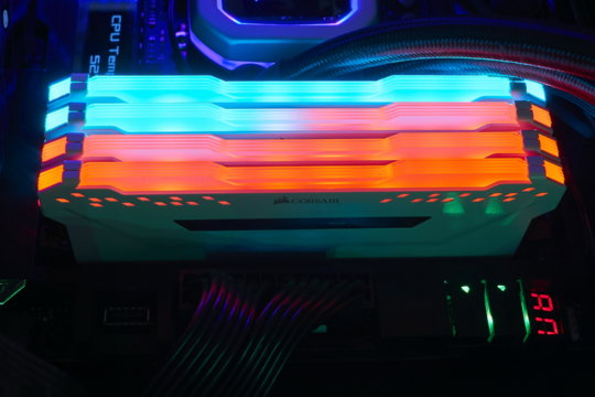 Corsair Vengeance Pro RGB Review | WASD