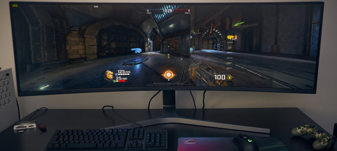 Samsung CHG90 - 49 inch 32:9 display @ 144 Hz