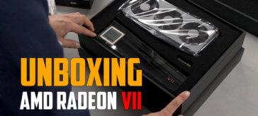Unboxing AMD Radeon VII