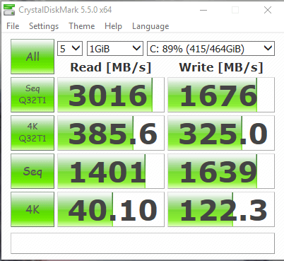 Samsung 960 EVO 500GB PCI Express x4 M.2 2280