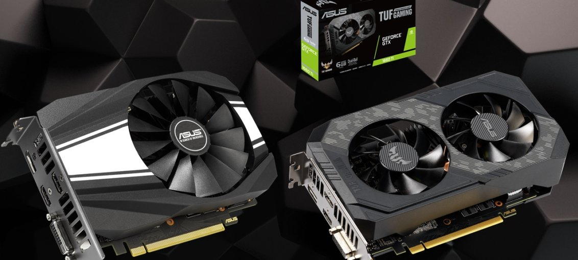 Asus lanseaza placile grafice TUF Gaming si Phoenix GeForce GTX 1660