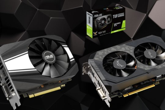 Asus lanseaza placile grafice TUF Gaming si Phoenix GeForce GTX 1660