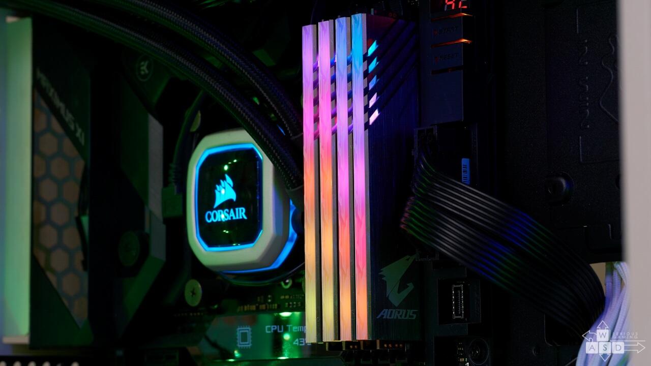 AORUS RGB Memory 3200MHz review | WASD
